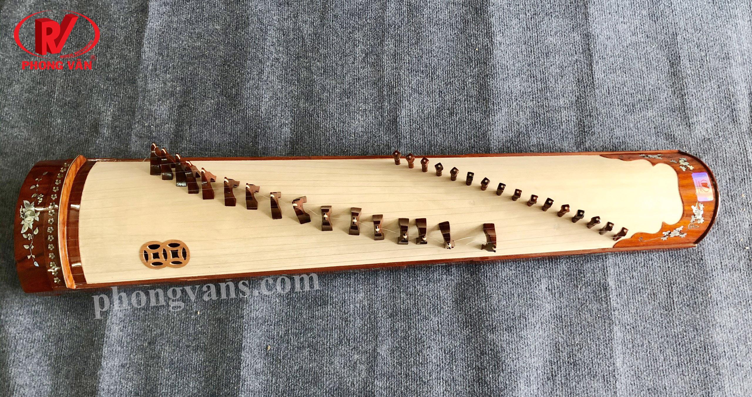 Đàn Tranh Việt Nam 16 dây (khảm trai)
