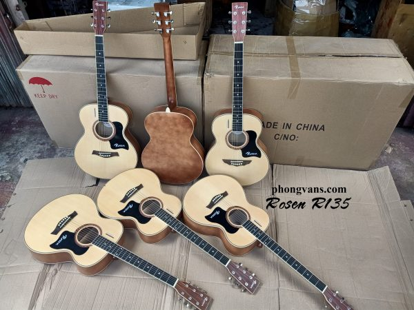 Bán sỉ đàn guitar thùng Rosen giá rẻ