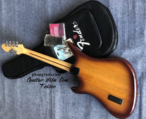 Đàn guitar điện phím lõm cao cấp Teisco