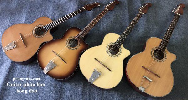 Bán sỉ đàn guitar cổ thùng phím lõm