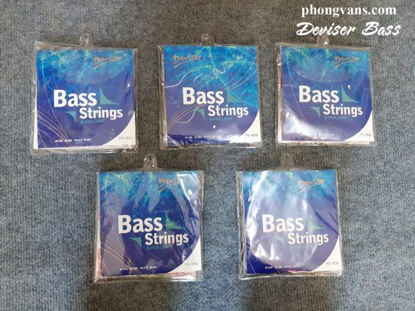 Bộ dây đàn guitar bass điện deviser