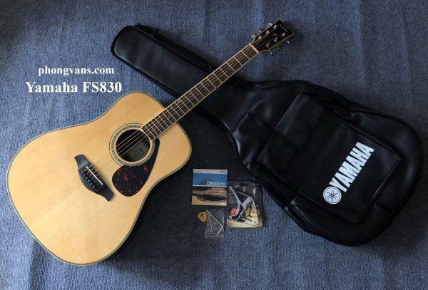 Đàn guitar acoustic gỗ cẩm ấn Yamaha FG830 solid