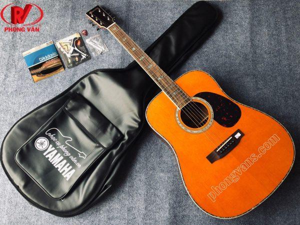 Đàn guitar acoustic gỗ cẩm Ấn Morris W40