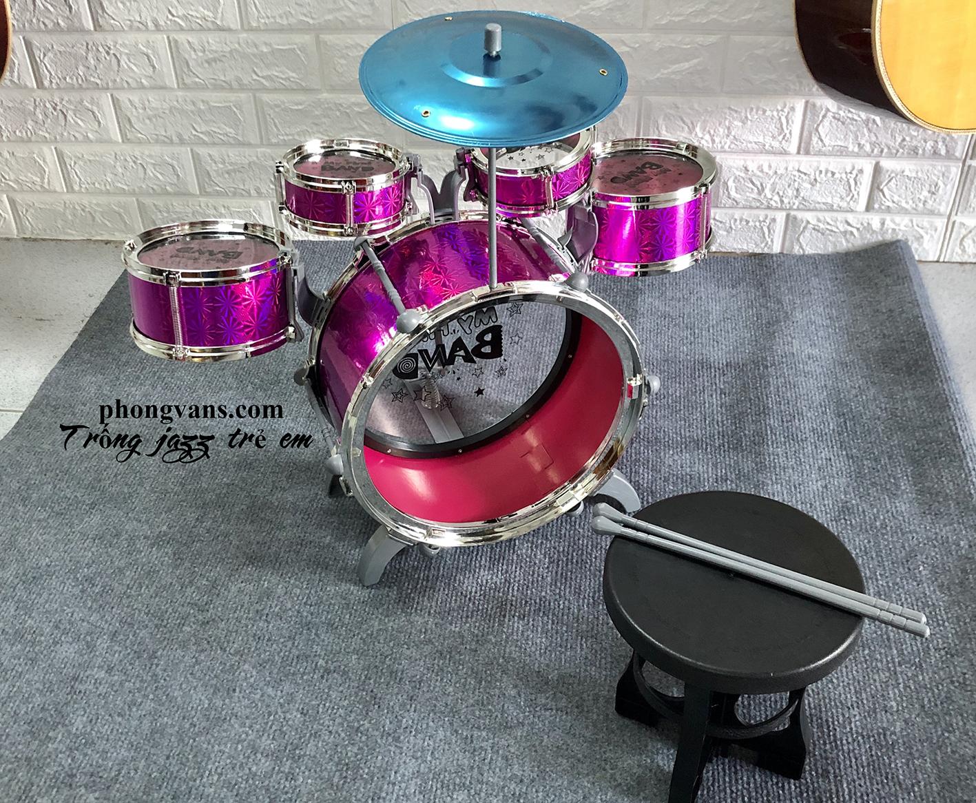 Bộ trống jazz drum trẻ em