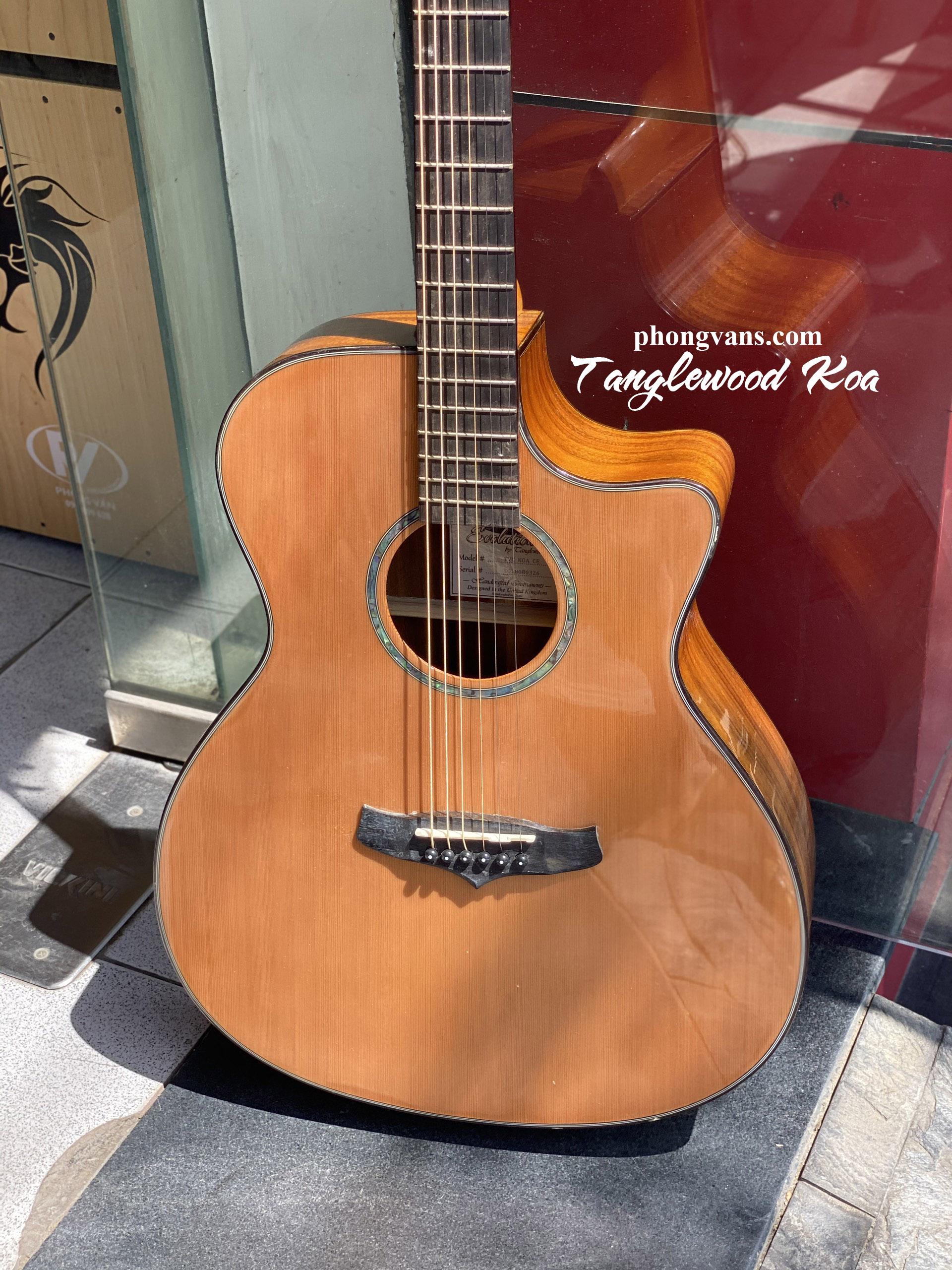 Đàn Guitar Full Koa Tanglewood United Kingdom