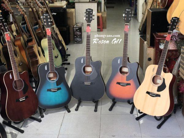 Bán sỉ đàn Guitar chính hãng Rosen G11