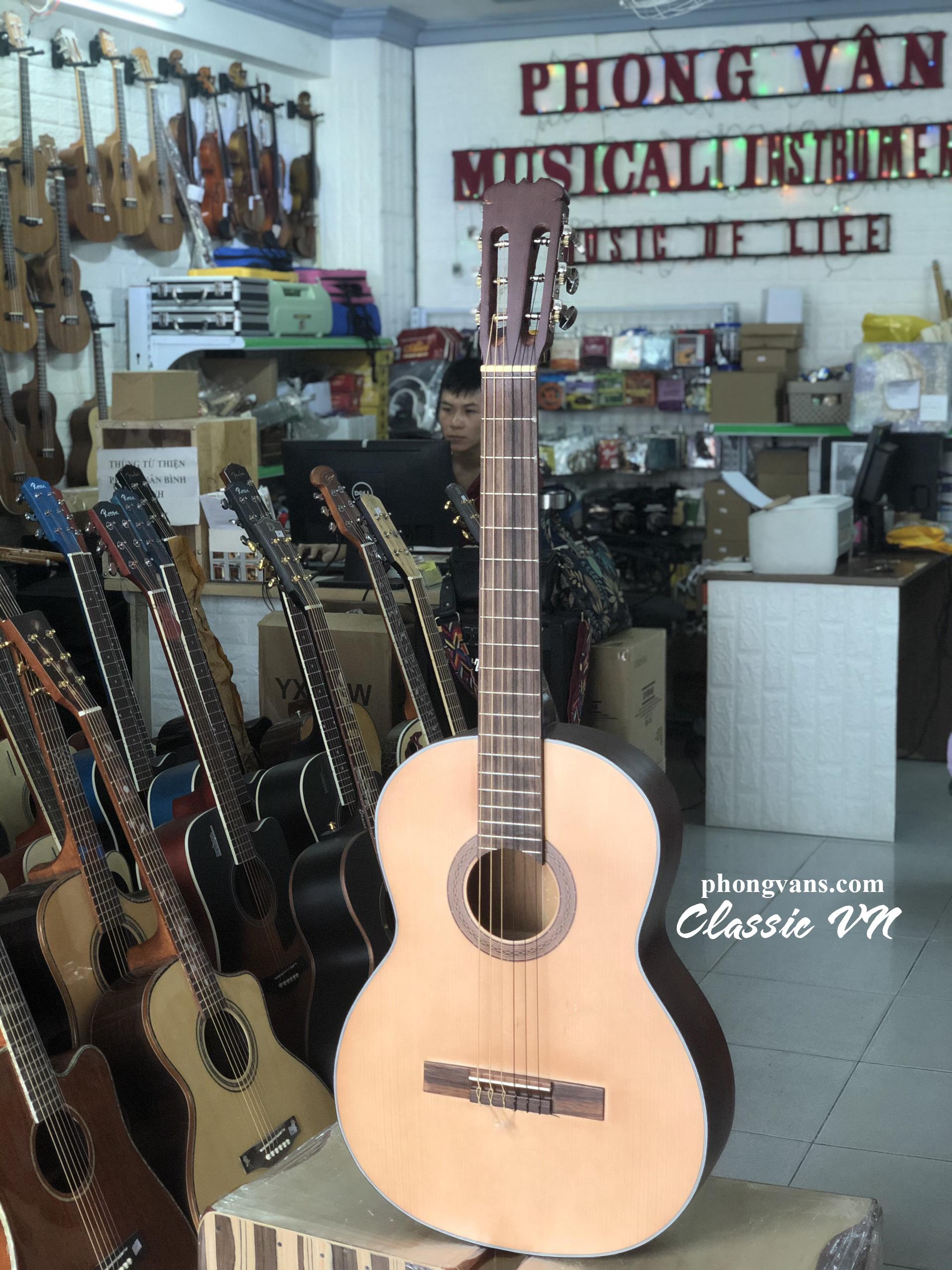 Guitar classic gỗ hồng đào
