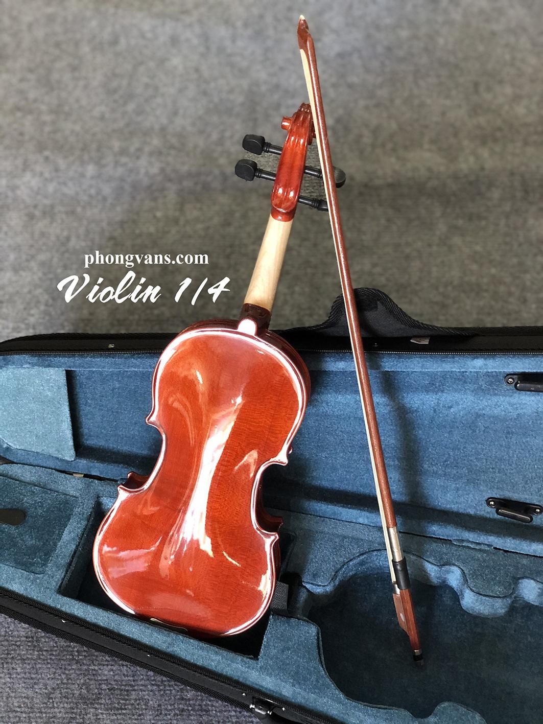 Đàn violin size 1/4 cao cấp