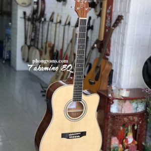 Guitar acoustic Takamine có EQ
