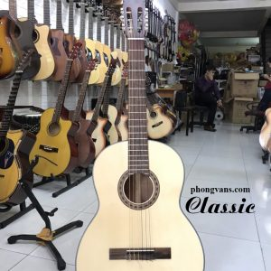 Đàn guitar classic hồng đào có ty