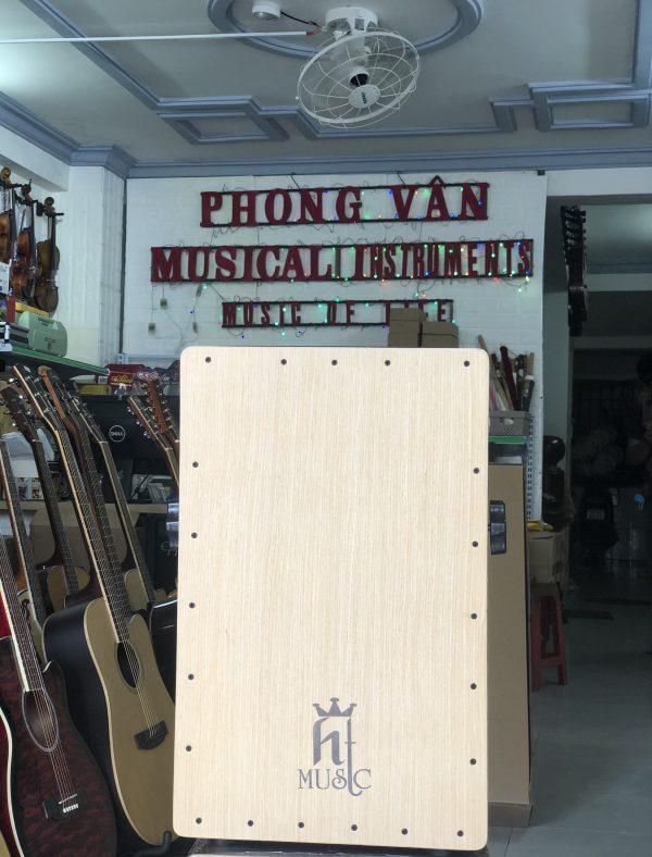 Trống cajon HT music gỗ cẩm có EQ
