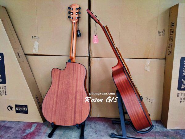 Bán sỉ đàn Guitar chính hãng Rosen G15