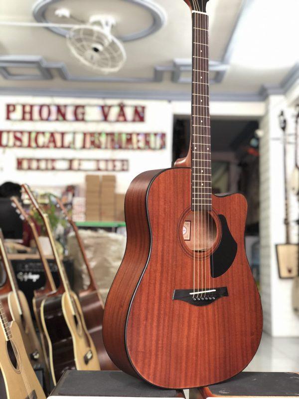 Đàn Guitar Acoustic Rosen Nâu G15 Gỗ Thịt