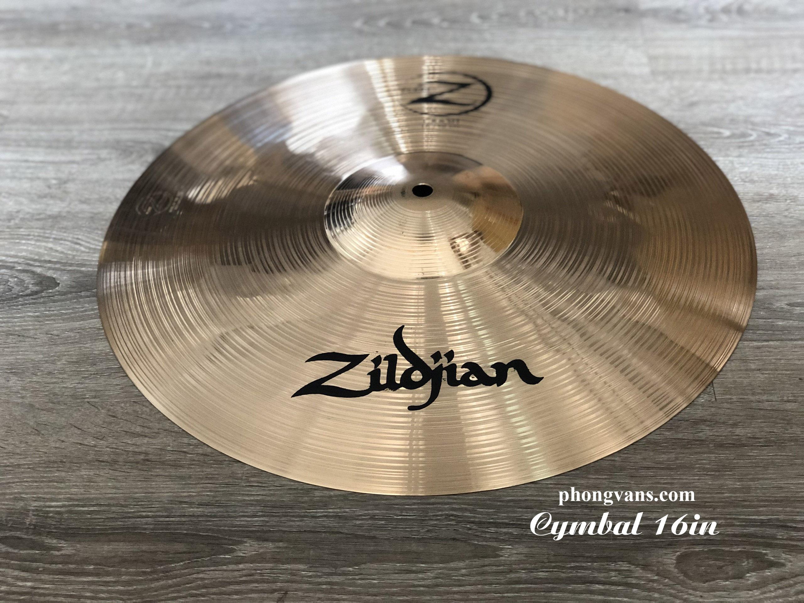 Cymbals zildjian 16 inch