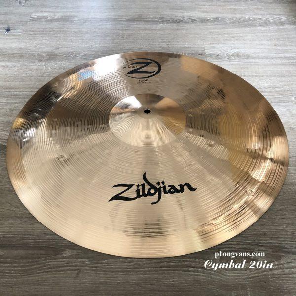 Cymbal trống jazz zildjian 20 inch