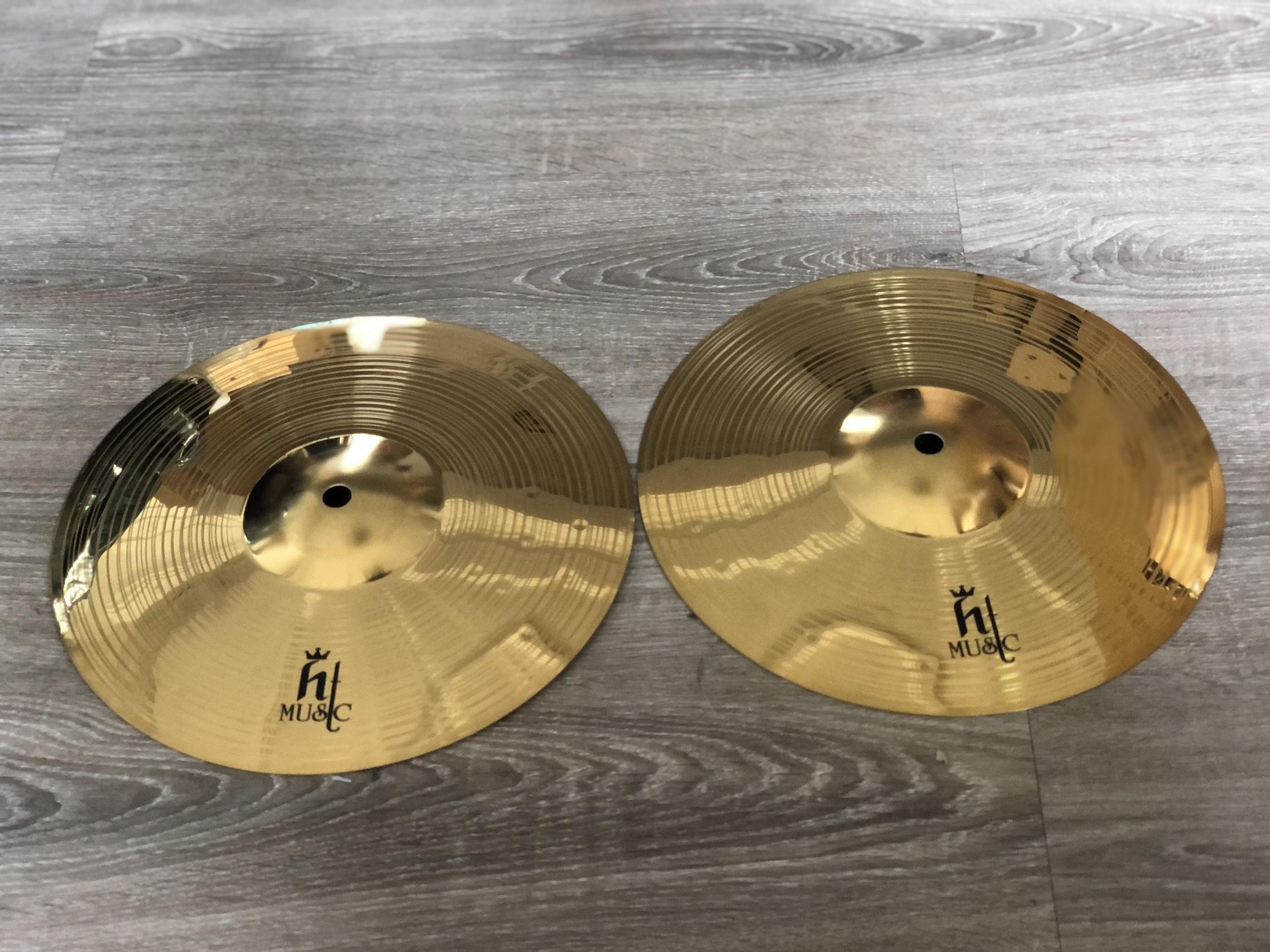 Lá Cymbal 10 inch chơi trống HT music
