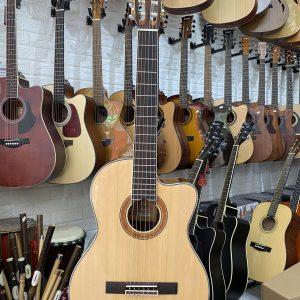 Guitar classic Saiger dáng khuyết