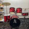 Trống jazz drum hãng HT music màu đỏ tươi