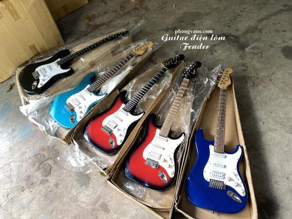 Bán sỉ guitar điện phím lõm Fender