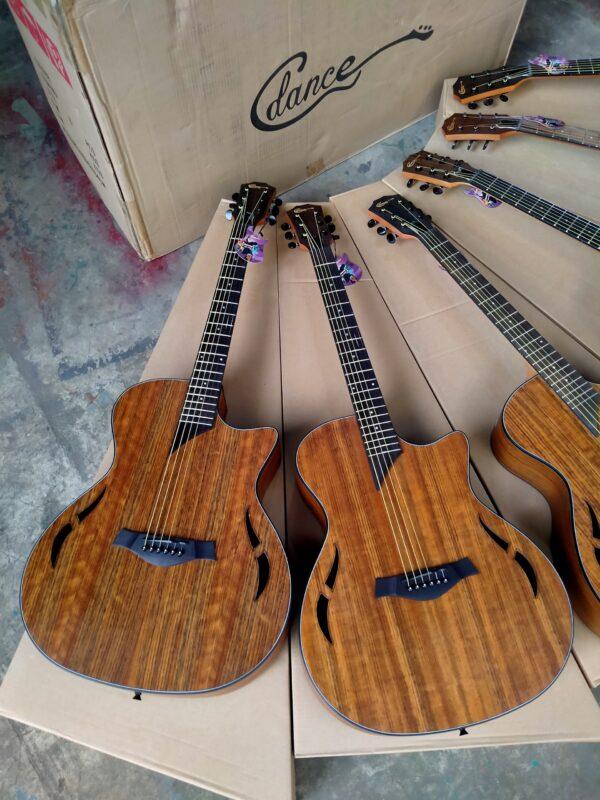 Bán sỉ guitar acoustic hãng Dance gỗ walnut