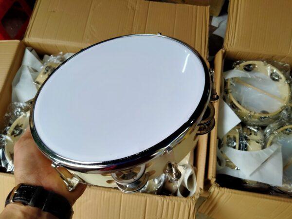 Là một trong những nhạc cụ phổ biến trong đời sống cũng như trong trường học hiện nay; trống tambourine ngày càng có thiết kế đa dạng hơn và đẹp hơn để phục vụ nhu cầu và thị hiếu từ khách hàng