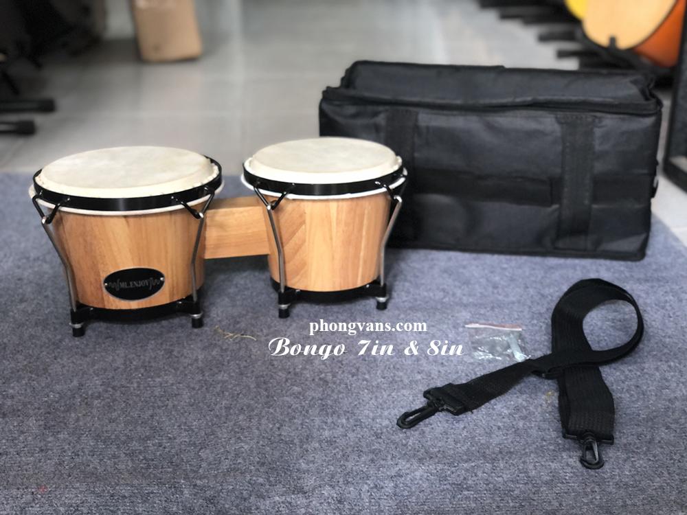 Bộ trống bongo 7in và 8in