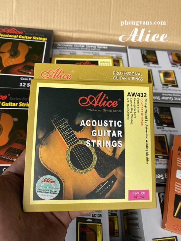 Bán sỉ dây guitar Alice chính hãng