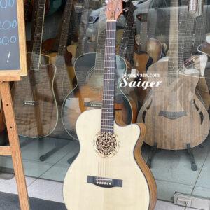 Guitar Saiger có EQ chính hãng
