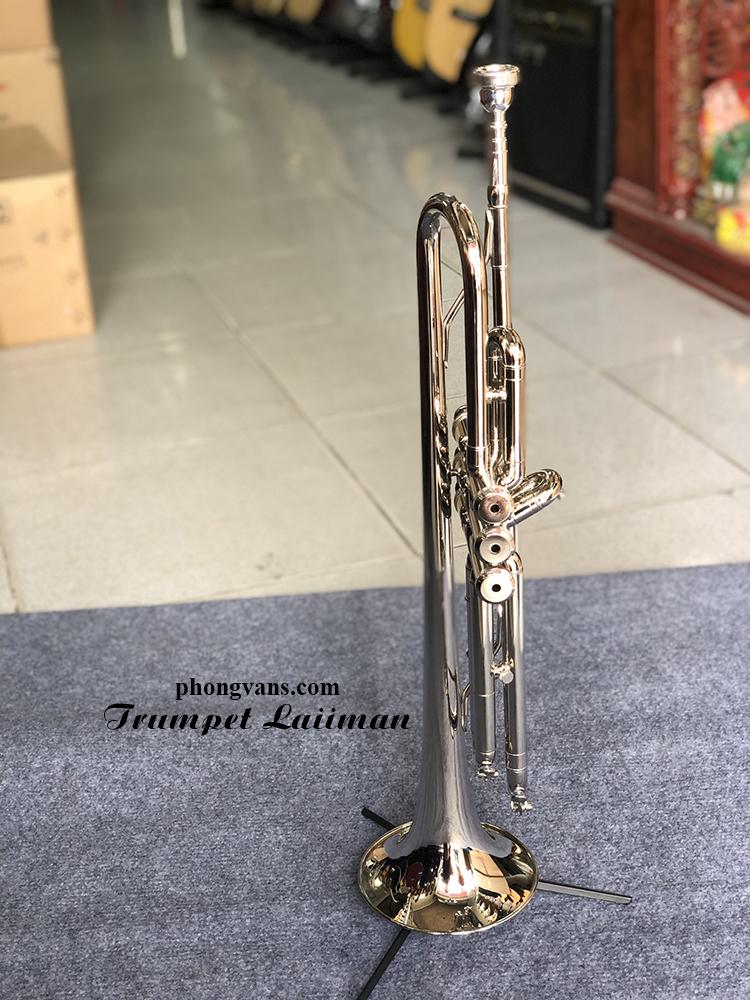 Kèn Trumpet Laiiman Pháp trắng