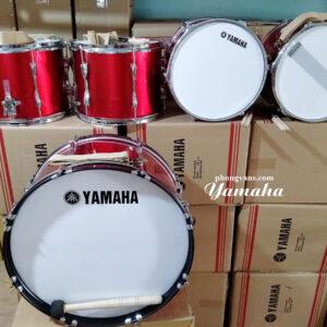 Trống đội gỗ Yamaha nhập khẩu màu đỏ