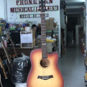 Guitar acoustic Ziko có EQ Tagima chính hãng
