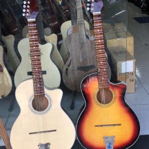 Guitar thùng phím lõm