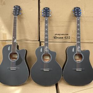 Đàn Guitar acoustic Rosen G12 chính hãng
