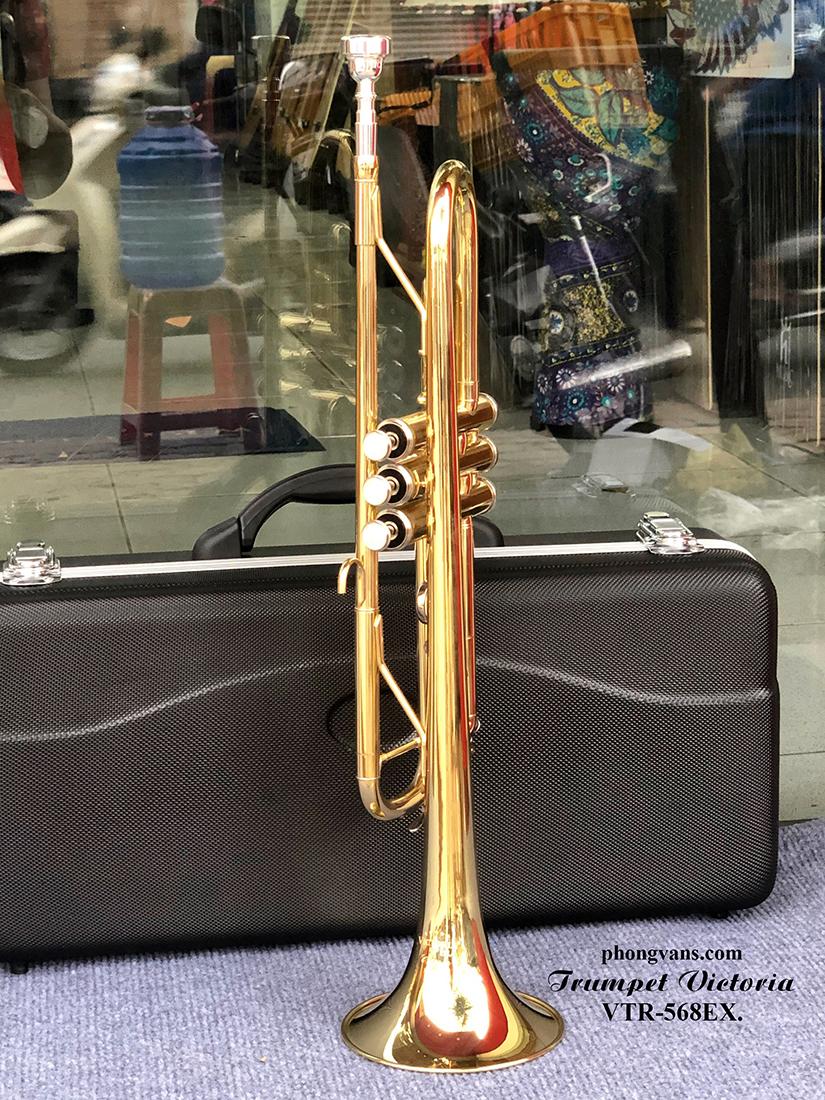 Kèn trumpet Victoria màu vàng VTR-568EX