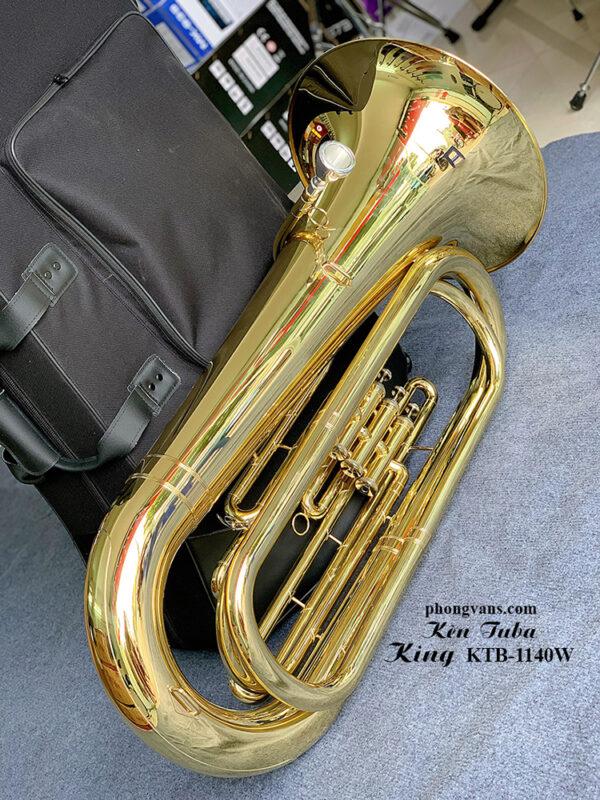 Kèn Tuba đồng King KTB-1140W