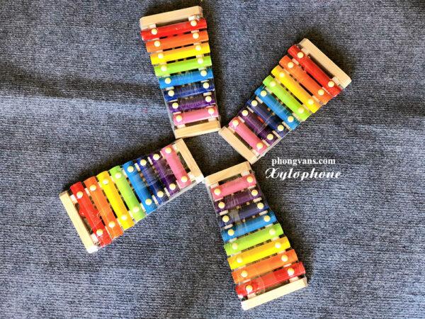 Bán sỉ đàn xylophone 8 thanh