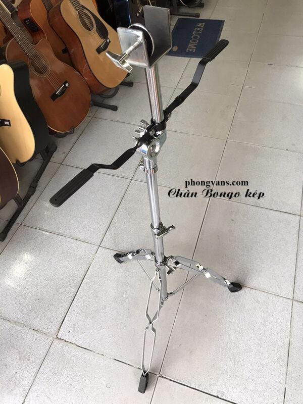 Chân trống Bongo kép