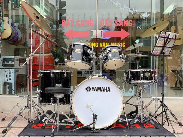 Bộ trống jazz Yamaha màu đen cao cấp