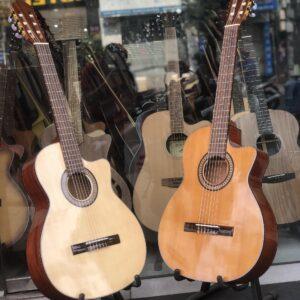 Guitar classic gỗ hồng đào thùng mỏng