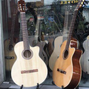 Guitar classic Việt Nam gỗ hồng đào
