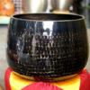 Chuông Đài Loan đen vân lục giác 14 inch