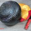 Chuông Đài Loan đen vân lục giác 12 inch