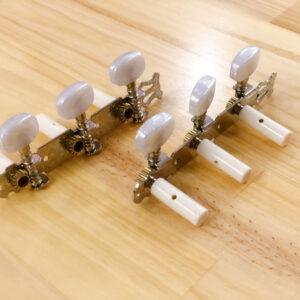 Bộ khóa đàn guitar classic trắng