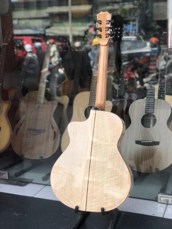 Đàn guitar acoustic gỗ còng cườm cao cấp