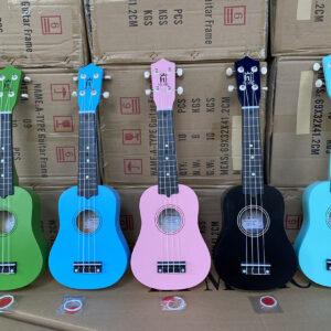 Bán sỉ ukulele màu 21 inch