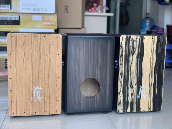 Trống cajon gỗ cẩm