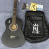 Guitar classic hãng HT music màu đen