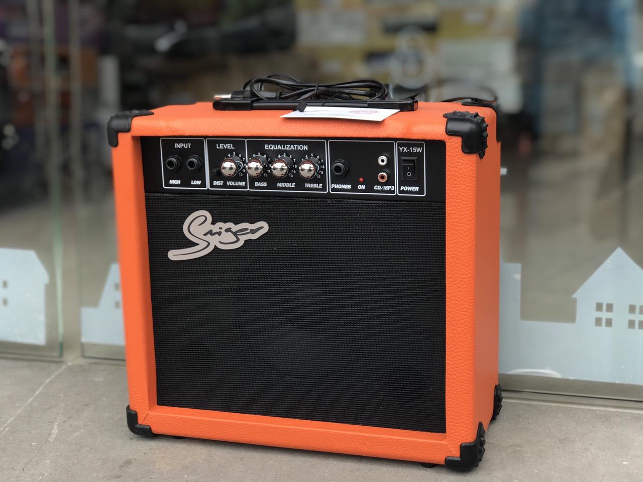 Amply Saiger YX15 dùng cho guitar
